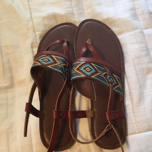 A pair of sandals